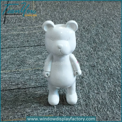 Resin little bears figurines decor for gifts