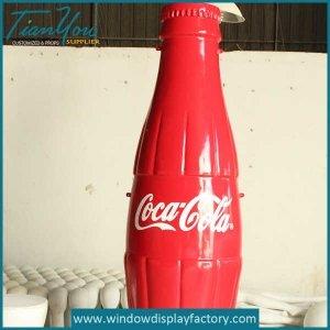Custom Cocacola Resin Bottle Decoration