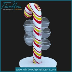 Cheap Giant Fiberglass Lollipop Display Props