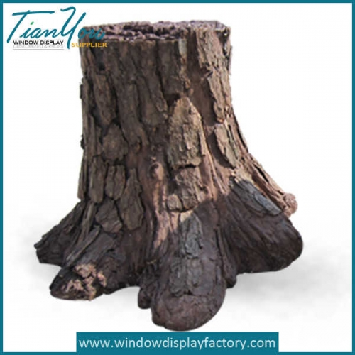 Decorative Fake Resin Trunk Decoration Display Props