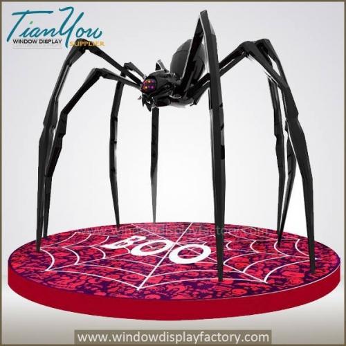 Holy Giant Fiberglass Halloween Spider Display
