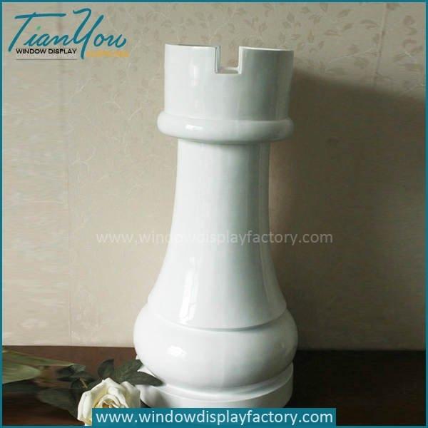 Fashion Design International Fiberglass Chess Rook