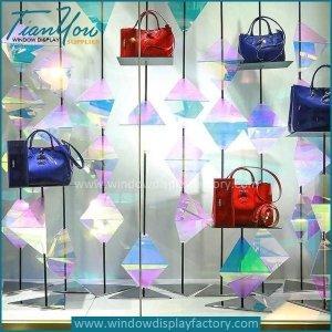 Acrylic display sheet show window design