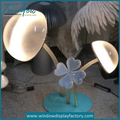 Beautiful Crystal Acrylic Flower Light Decoration
