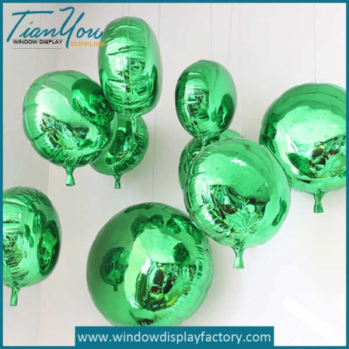 Electroplate Colorful Decoration Fiberglass Balloons