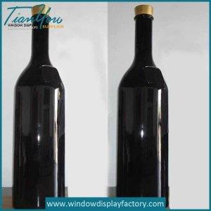 Custom Fake Resin Wine Bottle Display Props