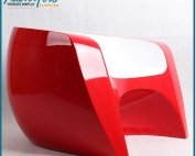 Modern Elegant Fiberglass Chair Furniture
