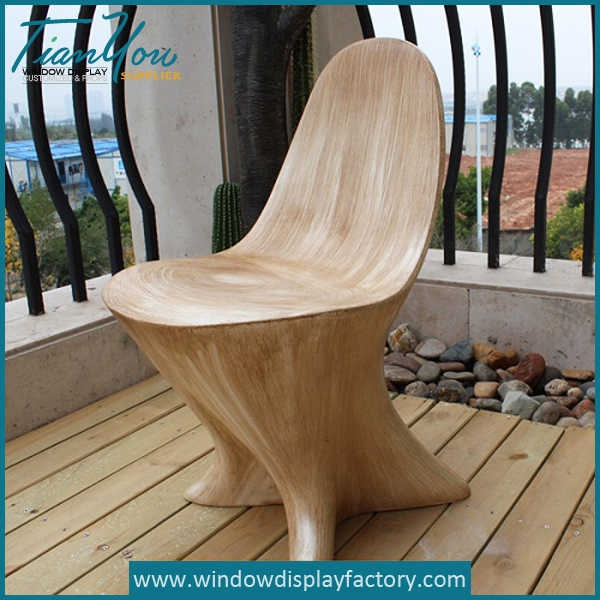Modern Elegant Novel Designs Wood Chair