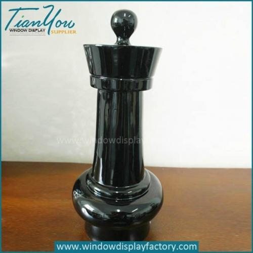 Hot Selling Fashion Colored Fiberglass Chess Pawn