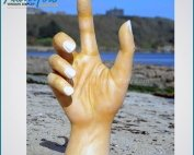Outdoor Giant Female Fiberglass Hand Statue