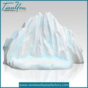 Fake Giant Foam Ice Cube Park Decoration