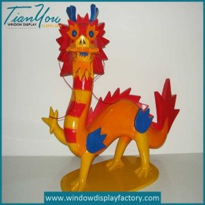 resin dragon statues