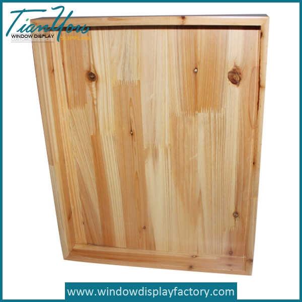 Natural Rectangle Fruit Food Wood Tray Craft