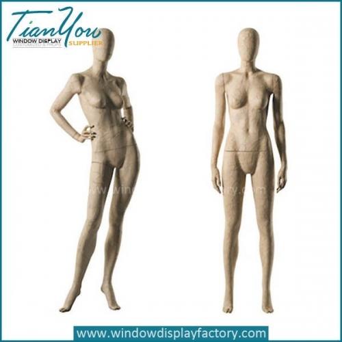 2017 Custom Female Vintage Cracked Mannequin