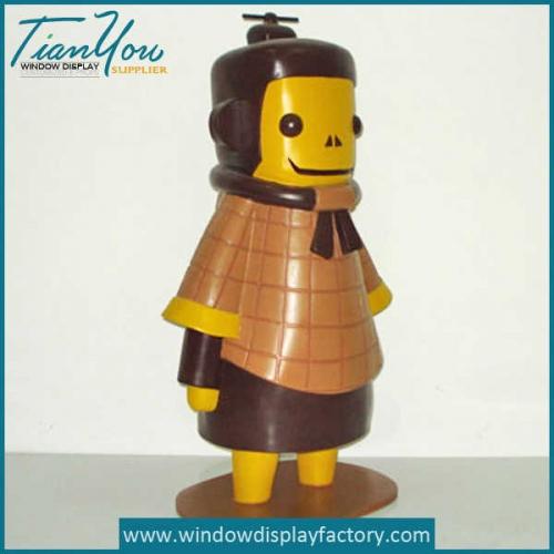 Custom Colored Resin Warrior Statute Decoration
