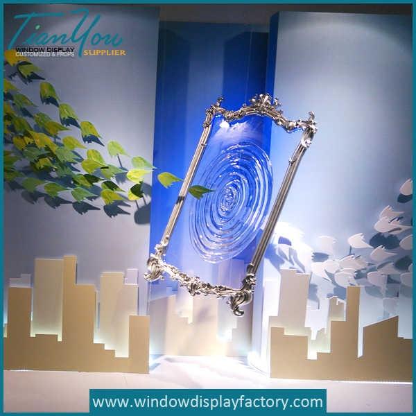 Custom Attractive Crystal Acrylic Window Display