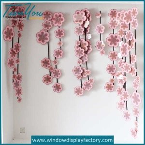 Custom Fake Colorful Resin Flower Ornament